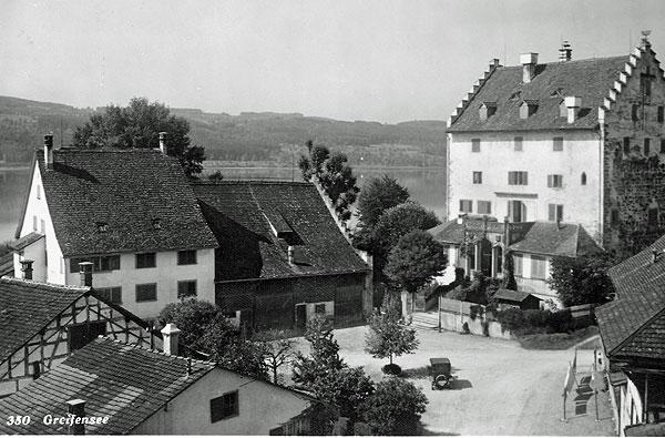 Schloss um 1910